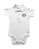 POLO BEBE Authentique Miséricorde Divine tricolore