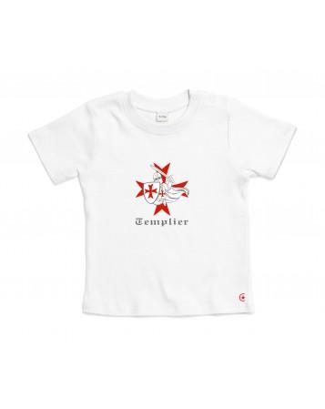 GAUTHIER Le Tee-shirt catholique pour garçon avec un petit templier