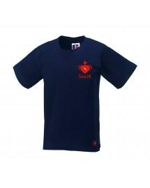 JULIE Tee shirt catholique pour fille avec le Sacré Coeur