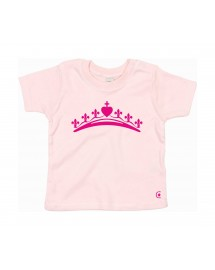ALICE Tee shirt catholique pour les petites filles avec une couronne