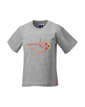 EMMANUEL Tee-shirt catholique pour garçon avec Colombe de l'Esprit Saint