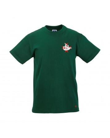GHISLAIN Tee Shirt Catholique garçon avec petit templier côté ceur