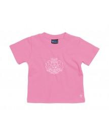 CLEMENCE Tee shirt catholique pour petites filles avec blason marial