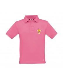 AMELIE Polo catholique pour fille aux couleurs de l'Esprit Saint