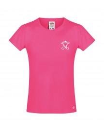 LUCIE Tee shirt catholique pour fille avec une petite couronne mariale