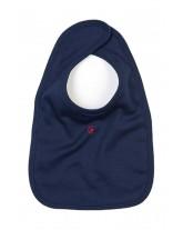 TOUSSAINT Bavoir brodé pour les bébés avec un joli petit Sacré Cœur
