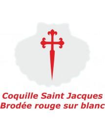 JOEL Peignoir de bain pour garçon avec une Coquille St Jacques brodée