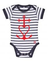 ARMEL Body marinière catholique bébé croix de méditerranée