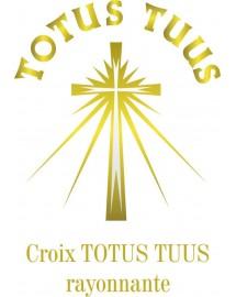AURELIEN Veste softshell catholique pour prêtre avec Croix Totus Tuus
